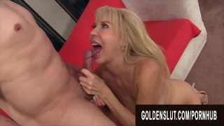 Golden Slut - Amazing Granny Erica Lauren Compilation Part 3