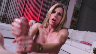 HOT MILF Cory CHEATS ON HUSBAND with HIS SON, but is a HAND JOB CHEATING?!?