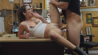 XXX PAWN - He Shows French Girl Charlie Harper What America Is All About