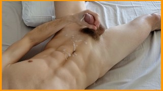 Cumshot compilation watch his hot twink cock cum over and over - Kyle Lane