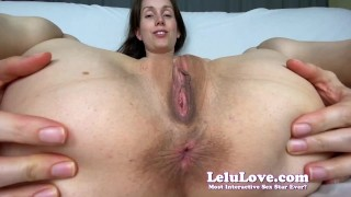 SUPER closeup asshole spreading POV licking smelling puckering - Lelu Love