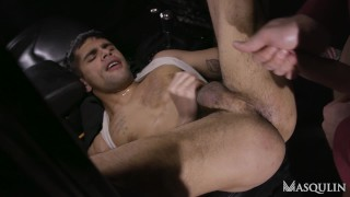 HORNY DRIVER SUCK AND FUCK A HOODED STRANGER
