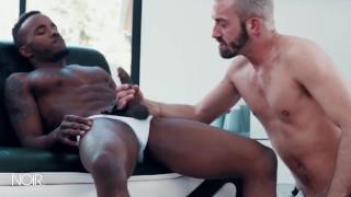 NoirMale - White dude deepthorats BBC