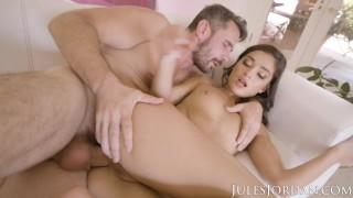 Jules Jordan - Emily Willis Deep Anal Penetration