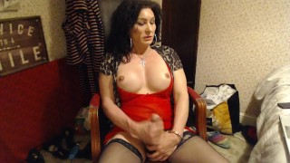 Dirty OLD WebcaM TRANNY SPUNKING