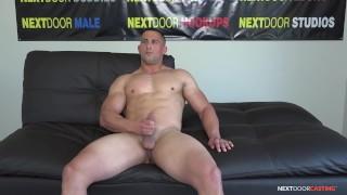 NextDoorCasting - Buff & Kinky Hunk Luke Miles' Porn Audition