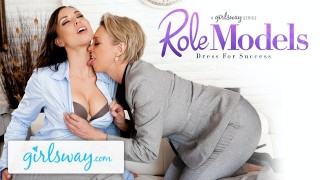 GIRLSWAY Aidra Fox Gets Seduced By Her Boss