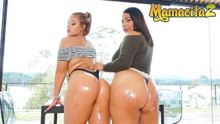 Her Big Ass - PAWG Juicy Ass Colombiana Teens Hot Threesome - MamacitaZ