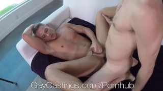 GayCastings Casting Agent Fucks Tight Naive Asshole