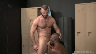 ExtraBigDicks - Jake Morgan Caught Staring In Locker Room