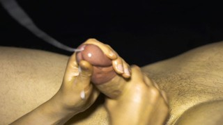 Angry edging - I milk my stepbrothers big dick to ruin his orgasm