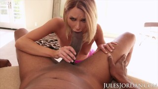 Jules Jordan - Will Dredd's Giant Cock Fit In Emma Hix?
