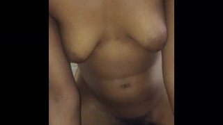 POV Cowgirl With College Teen! (Sexy TITS and Very HOT Fuck)