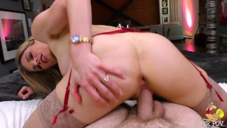 SLUT WIFE CHEATS on MARITAL BED no remorse WHILE WEARING RING big face POP!