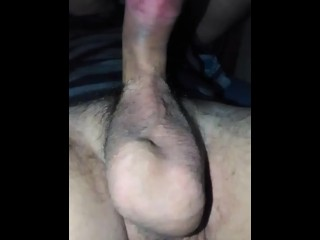 Thick Throbbing Penis and Massive Hanging Balls Therapeutic massage
