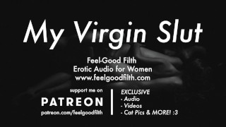 Older Guy Next Door Takes Your Virginity (Erotic Audio for Women)
