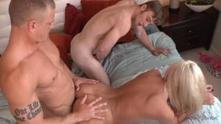 Corbin Fisher BI - Brayden gets cucked and fucked by Rowan and Brooke