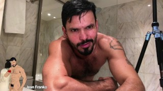 Jean Franko Quick Stroke Before The Shower Full Free Video