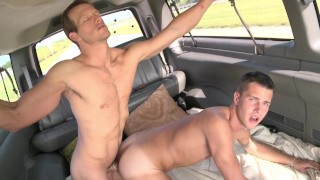 BAIT BUS - Cole Harvey Is Back In The Van & He's Hungry For Straight Cock