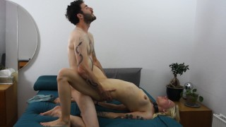 He choked me and I came so hard! breathplay squirting rough sex