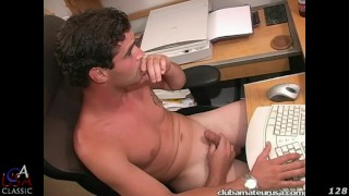 Casey Black takes on cam model Casey during his live show