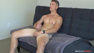 NextDoorCasting - Brandon Anderson's Casting Couch Audition