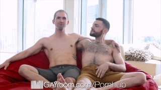 GayRoom Huge Dick Hunks Fuck Out Of Boredom