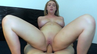 All Natural Busty babe Brooke Wylde Takes A huge Cock!