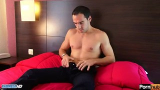 Why str8 guys do gay porn? Eric str8 serviced despite of him.