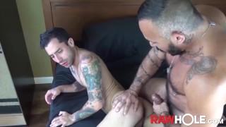 RAWHOLE Young Bottom Nick Hole Smashed Raw By Latino Daddy