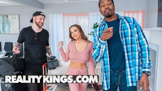Reality Kings - Abigail Mac Ropes Voyeur Isiah Maxwell Into A Sexy Amateur Video