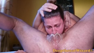 Amateur DEEPTHROATING like a PRO - cut