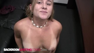 Chunky 19yo Charlotte Has An Attitude But Gets Her Face Fucked & Shuts Up!