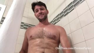Preston Parker Cums Huge Load