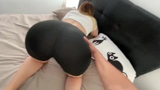 I'm Fucking my Milf Step Mom While She Is Stuck In Her Bed