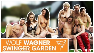 Swinger Party! Hot MILFs nailed by hard men! WOLF WAGNER