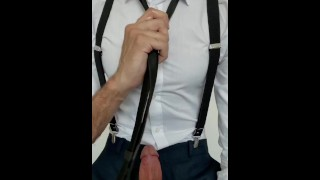 Big cock & spit at the office