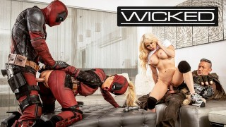Wicked - Deadpool Finally Fucks In His Porn Parody