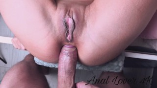 THE ASS OF THIS SCHOOLGIRL IS A REAL DICKS GARAGE. SLUT TO DESTROY WITHOUT MERCY! - Anal lover 4k
