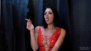 Marlboro Red - Smoking Goddess Worship Preview - Young Goddess Kim