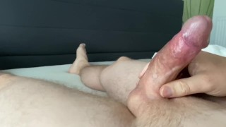 Intense wanking and horny orgasm Part 2