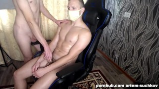 made an erotic massage to a friend - ARTEM SUCHKOV