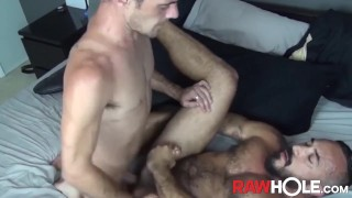 RAWHOLE Brett Bradley Swaps Head and Fucks Latino Daddy