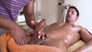 GAYWIRE - Hot Men, Covered In Warm Oil, Having Gay Sex