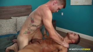 Beaux Banks Loves A Hard, Rough Dick Down To Start The Day