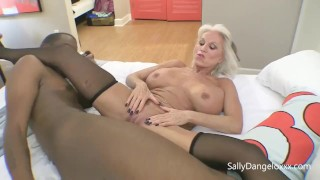 three HOT MATURE MILFs love BLACK COCK