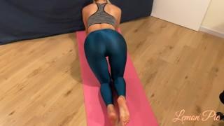 Amateur Model is Fucked Hard by Big Cock After Workout - MissLemonMrPie