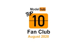 Top Fan Clubs of August 2020 - Pornhub Model Program