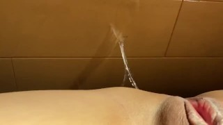 Playing With Lots Of Juice Dripped Down From My Naughty Pussy Right After I Had A Nipple Orgasm