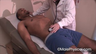 Straight Male Doctor Physical Exam